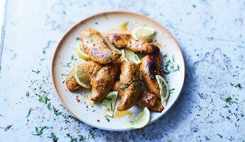 Aiguillettes poulet marinées aux épices tandoori