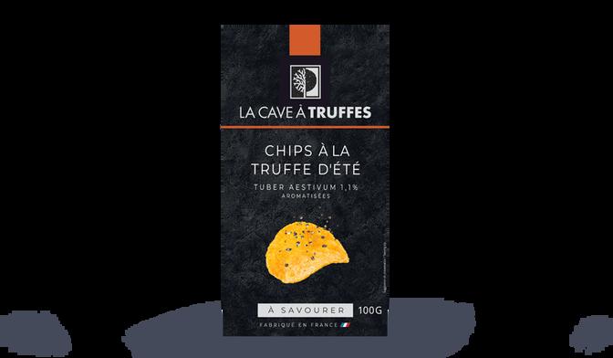 Chips à la truffe d'été Tuber aestivum 1,1% aromatisées