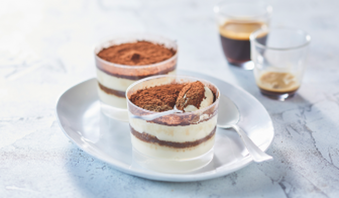 2 COUPES PATISS TIRAMISU