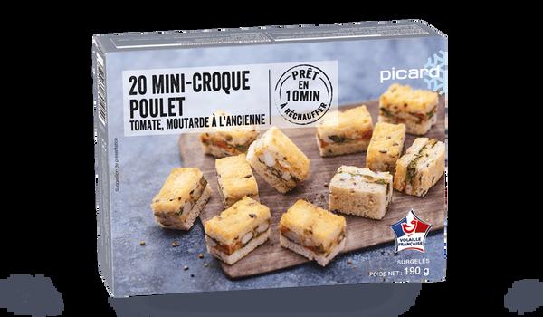 20 mini-croque poulet