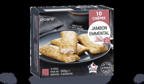 10 crêpes jambon-emmental