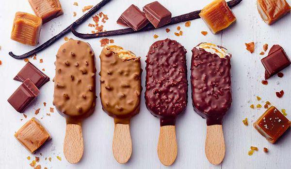 8 mini-bâtonnets vanille et caramel
