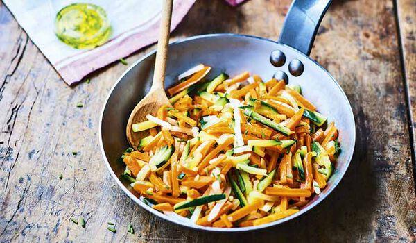 Julienne de légumes bio, France ou Italie