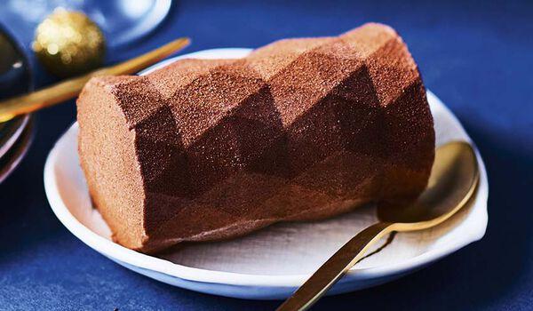 2 bûchettes glacées chocolat façon mendiant
