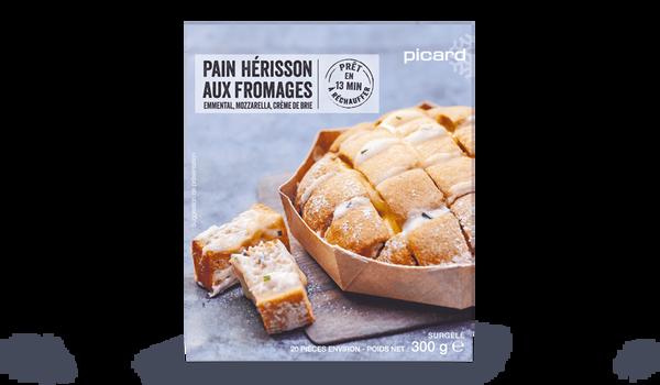 Pain hérisson aux fromages