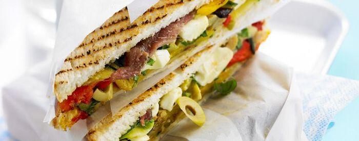 Sandwich méditerranéen