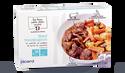 Boeuf bourguignon, poêlée pommes de terre, carotte