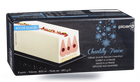 Bûche glacée chantilly-fraise, 8 parts