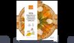 Pizza straciatella,fleurs de courgettes,gorgonzola
