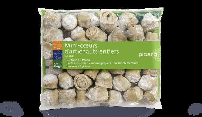 Mini-coeurs d'artichauts entiers