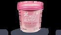 Crème glacée chocolat - vanille, sce caramel