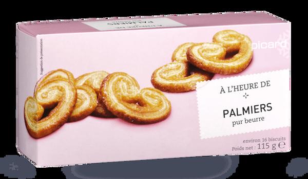 Palmiers pur beurre, A l'heure de ...