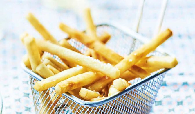 FRITES MICRO-ONDES 90GRS