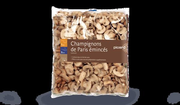 Champignons de Paris émincés