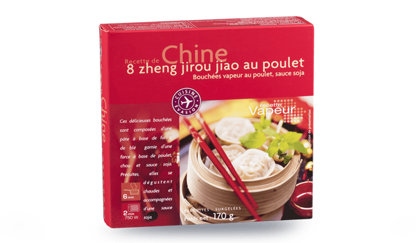 8 Zheng jirou jiao au poulet