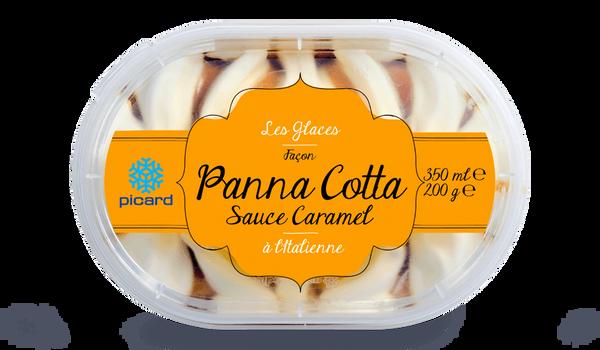 Crème glacée Façon panna cotta à l'italienne
