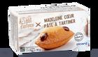 Madeleine coeur pâte à tartiner