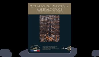 2 queues de langouste australe crues TAAF