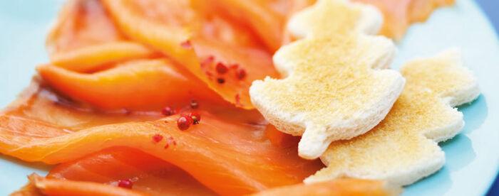 8 tranches saumon fumé ASC Norvège, façon traiteur