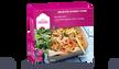 Noodle box crevettes sauce curry rouge