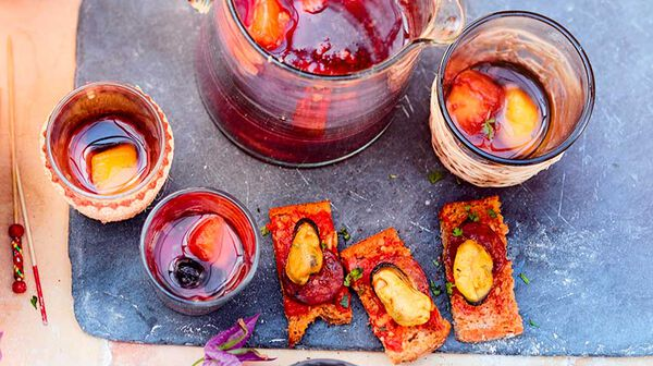 Sangria aux fruits