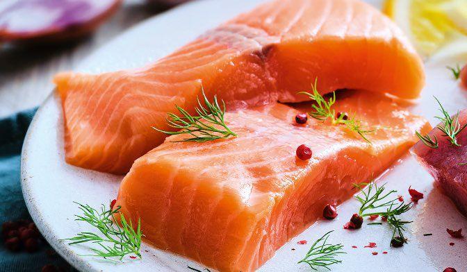 2 pavés de saumon atlantique