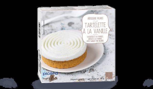 Tartelette à la vanille, 1 part