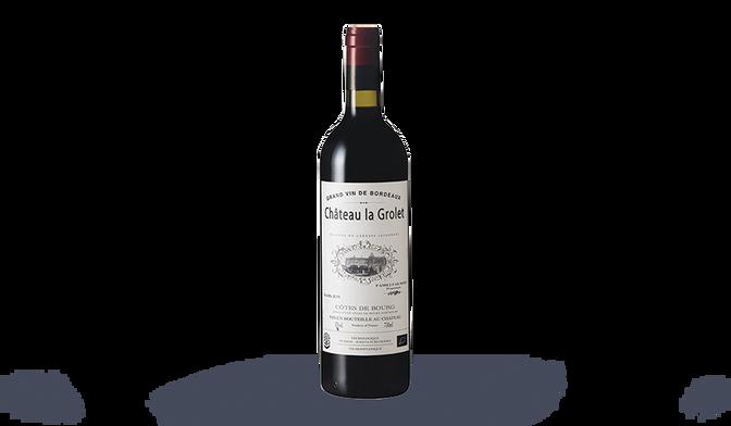 Bordeaux Ch. La Grolet AOP Côtes de Bourg Bio