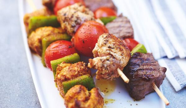 2 brochettes RoyalGrill tikka