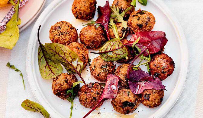 Boulettes végétariennes d'aubergines