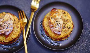 Parmentier de veau et écrasée de pomme de terre aux truffes