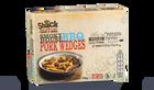 Effiloché de porc sauce BBQ et pommes de terre
