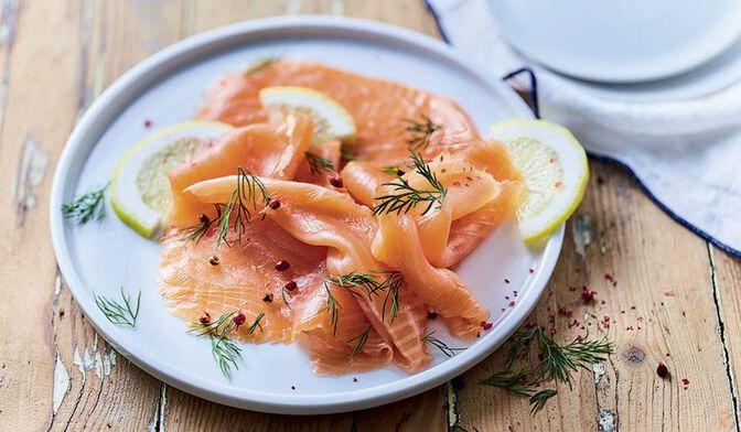 4 tranches de saumon fumé Norvège ASC