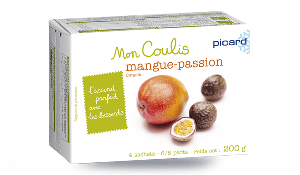Coulis mangue-passion