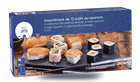 Assortiment de 12 sushi au saumon