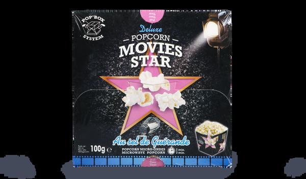 Popcorn Movies Star au sel de Guérande