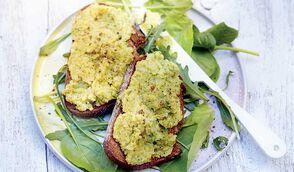Tartine de houmous au brocoli par Margot du blog Bien dans mon slip