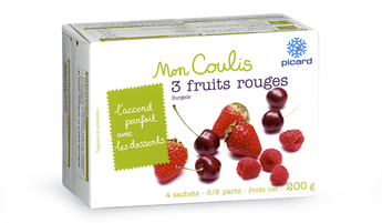Coulis aux 3 fruits rouges