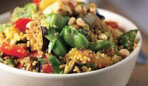 Taboulé de légumes aux céréales