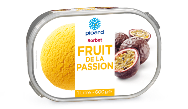 Sorbet fruit de la passion