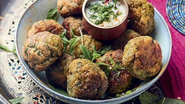 Chicken balls à l'indienne