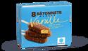 8 bâtonnets glacés vanille