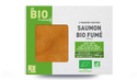 4 tranches de saumon fumé bio