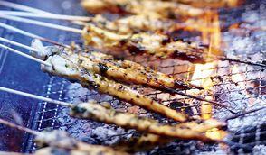 Brochettes de poulet à la citronnelle