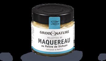 Groix et Nature Rillettes de Maquereau au Poivre
