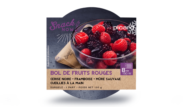 Bol de fruits rouges
