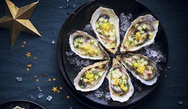 6 huîtres bretonnes traiteur