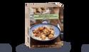 Brochettes de poulet, boulghour et légumes