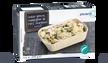 Gratin de gnocchi, champignon de Paris, courgette