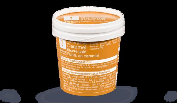Crème glacée caramel beurre salé